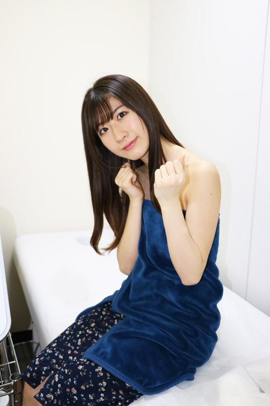 女優で元AKB48の石田晴香さんの脱毛メニュー…腕エリア!所用時間…15分前後!